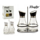 set of oil and crystal vinegar, 2 times