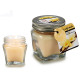 vanilla top metal candle jar 16h