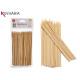 Set mit 85 Bambusspießen 15cm