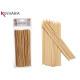 Set mit 85 Bambusspießen 20cm