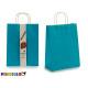 set di 2 grandi sacchi di carta di colore blu