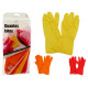 latex gloves colors 3 times assorted size l