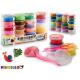 set of 24 pieces light pasta 550gr, colors