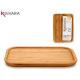 Bambus kleine rechteckige Vorspeise