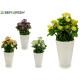 palline di fiori bianchi assortito 4colores
