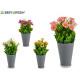 fioriera grigio margherite, colori 4 colori volte