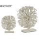 round white wood decorative tree