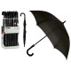 black handle umbrella