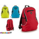 backpack round 3 assorted colors clear