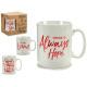 brocca mug time red big models 4 volte assortito