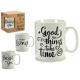 brocca mug time nero grandi modelli 4 volte assort
