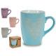 tazza mug caffè, colori 4 volte assortito