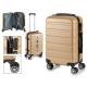 valigia cabina abs oro strisce orizzontali
