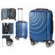 Kofferkabine abs blauen Wellen Kreise