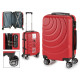 suitcase cabin abs red waves circle