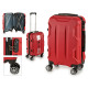 Kofferkabine abs roten Formen