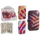 manicure set case, 3 times assorted nail
