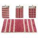 tapis fuchsia 40x60cm, 4 fois assorti maquettes