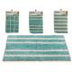 blue carpet 40x60cm, 4 times assorted Models
