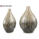 Narrow Vase Nacre Gray Degraddo 31cm