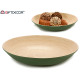 round table center bamboo green 37.5 cm