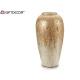 nacar vase white 41cm wide