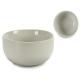 bol rond en porcelaine blanche 14,5 cm