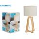 GRUNDIG - lampshade table lamp fabric base mad