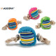 ball shaped teether, colors 4 times assorted