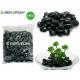 Steintasche super schwarz poliert 4kg mittel