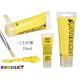 75ml yellow acrylic paint tube