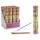 set di 30 bastoncini di incenso viola con supporto