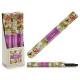 set of 6 packs 16 bars incense violet