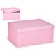 boîte en carton lilas pastel xl