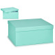 pastel blue cardboard box xl