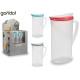 1.8l plastic water jug, colors 3 times assorted