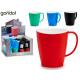 bicol plastic breakfast cup, colors 4 times surt