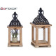 lantern wood square high grid natur