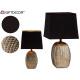 lampe rectangulaire pla / relief noir