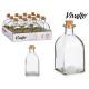 250ml Glasflasche mit Korkstopfen