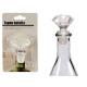 transparenter Diamantflaschenverschluss