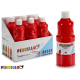 bottle painting tempera 400 ml red