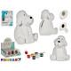piggy bank dog ceramic coloring