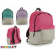backpack bicolor upper colors 3 times assorted c