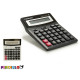 solar large calculator 2 times assorted black blah
