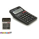 calculator medium solar 2col black white
