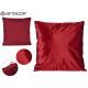 cuscino velluto rosso 45x45 cm