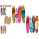 Surfbrettwandsilhouette 60cm, 2 fach sortiert
