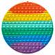 Push Pop XXL - Pop it - Round, Multicolored - 3 pi