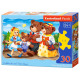 Puzzle of 30 elements Goldilocks and Three Bears